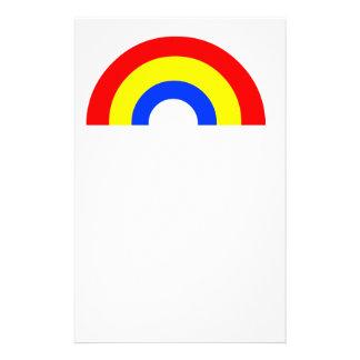 Rainbow Stationery