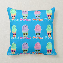 Rainbow Stay Cool Cone Parade Cushion