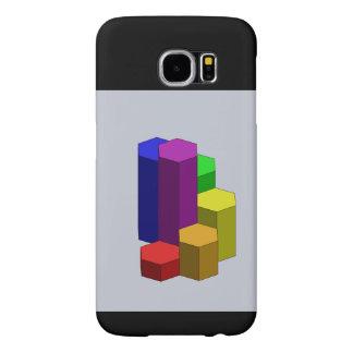 Rainbow Steps CAD black Samsung Galaxy S6 Cases