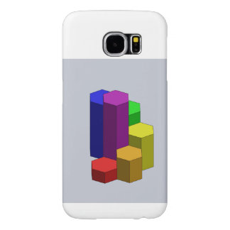 Rainbow Steps CAD Samsung Samsung Galaxy S6 Cases