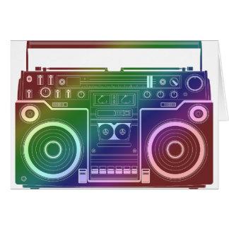 Rainbow Stereo Card
