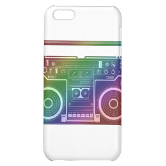 Rainbow Stereo Cover For iPhone 5C