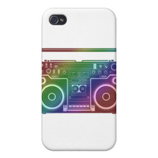 Rainbow Stereo Cases For iPhone 4