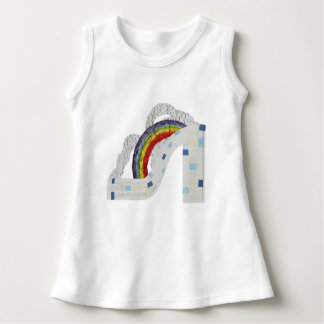Rainbow Stiletto Baby Dress
