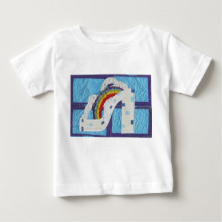 Rainbow Stiletto Baby T-Shirt