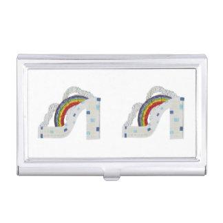 Rainbow Stiletto Business Card Holder