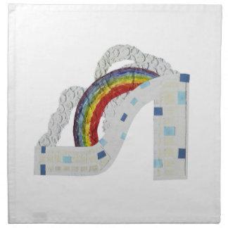 Rainbow Stiletto Cloth Napkins