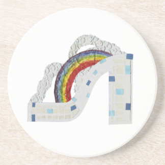 Rainbow Stiletto Coaster