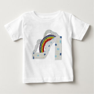Rainbow Stiletto No Background Baby T-Shirt