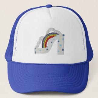 Rainbow Stiletto No Background Baseball Cap
