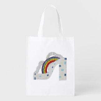 Rainbow Stiletto Reusable Bag