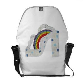 Rainbow Stiletto Rusksack Messenger Bags
