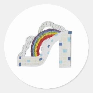 Rainbow Stiletto Stickers