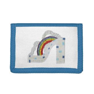 Rainbow Stiletto Thin Wallet