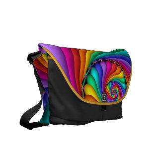 Rainbow Stitchery Rickshaw Messenger Bag