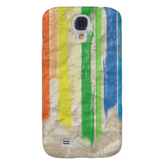 RAINBOW STREAKS -.png Galaxy S4 Case