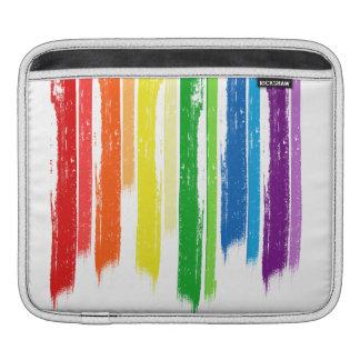 RAINBOW STREAKS -.png Sleeves For iPads