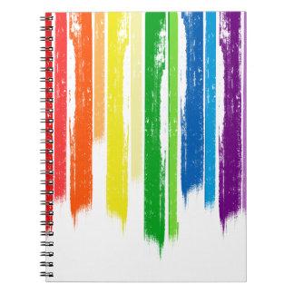 RAINBOW STREAKS -.png Notebook