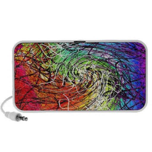 rainbow string theory twist doodle speaker