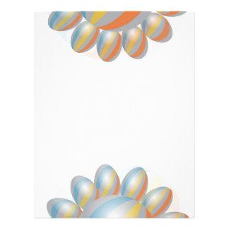 Rainbow Stripe Baloons Flyer