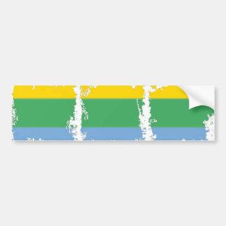 Rainbow Stripe Bumper Sticker