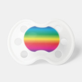 Rainbow Striped Baby Pacifiers