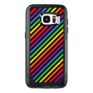 Rainbow Striped Cell Phone Case
