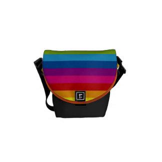 Rainbow Stripes Commuter Bags