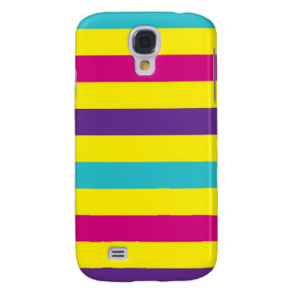 Rainbow Stripes Galaxy S4 Case