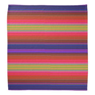 Rainbow Stripes Head Kerchief