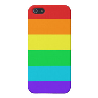 Rainbow Stripes iPhone 5/5S Matte Finish Case Cover For iPhone 5/5S