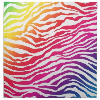 Rainbow Stripes Napkin