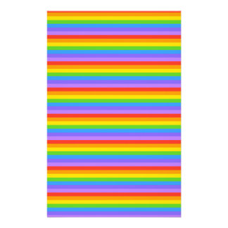 Rainbow Stripes Pattern. 14 Cm X 21.5 Cm Flyer