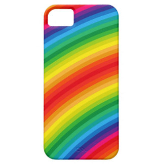 Rainbow Stripes Pattern iPhone 5 Cases
