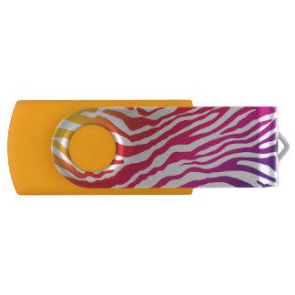 Rainbow Stripes USB Flash Drive