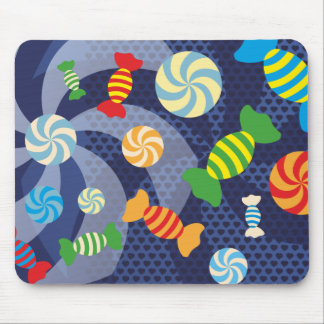 Rainbow Sugar Crush - Colorful Candies for Kids Mouse Pad