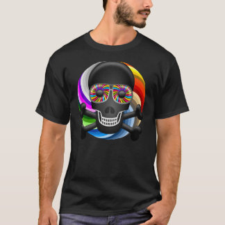 Rainbow Sugar Skull T-Shirt