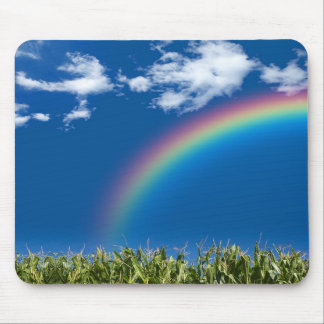 Rainbow Summer Mouse Pad