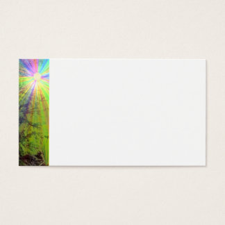 Rainbow Sun business card