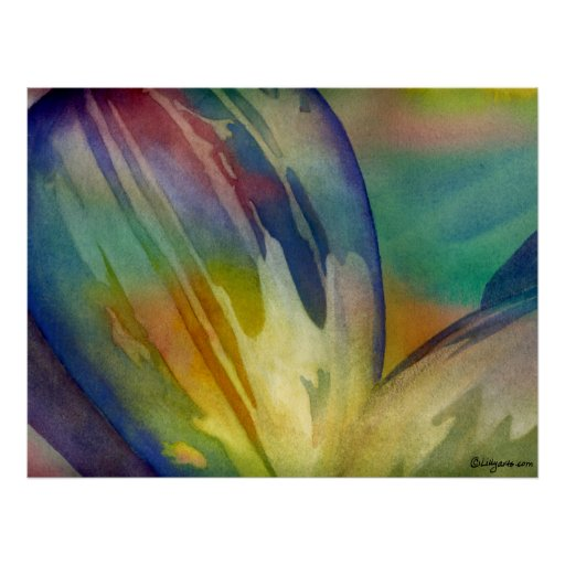 Rainbow Sunflower Seed 1 Poster Print