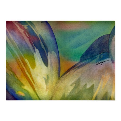 Rainbow Sunflower Seeds 3 Poster Print