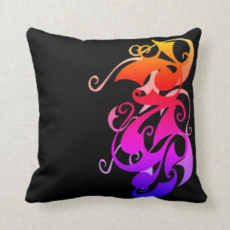 Rainbow Swirl Cushion