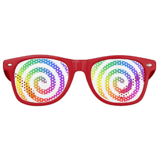 Rainbow Swirl Glasses
