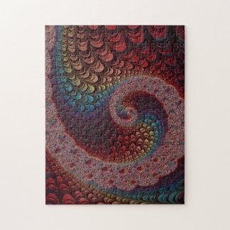 Rainbow Swirl Jigsaw Puzzle