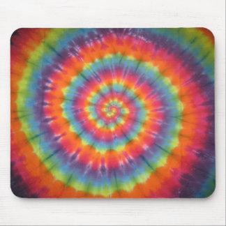 Rainbow Swirl Mouse Pad