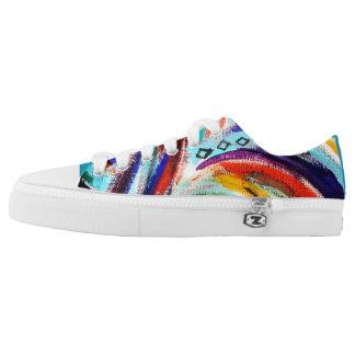 Rainbow Swirl Shoes