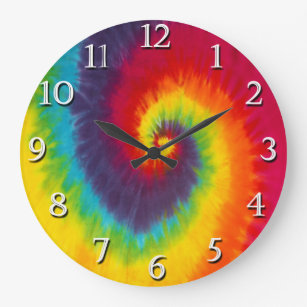 Groovy Wall Clocks Zazzle Uk