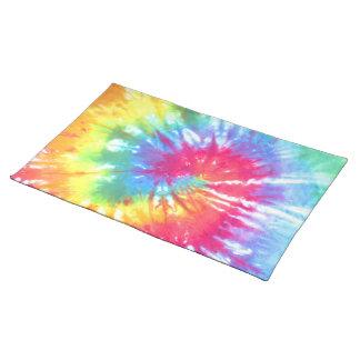 Rainbow Swirl Tie Dye Placemat