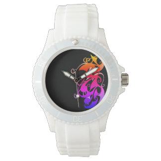 Rainbow Swirl Watch