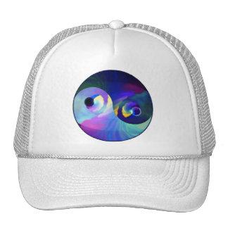 Rainbow Taijitu Yin Yang Mesh Hats